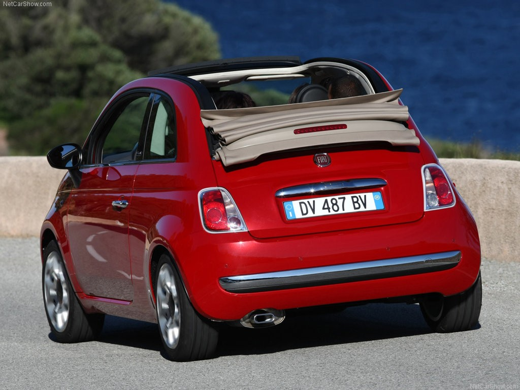 fiat 500 cabriolet convertible cars. Black Bedroom Furniture Sets. Home Design Ideas