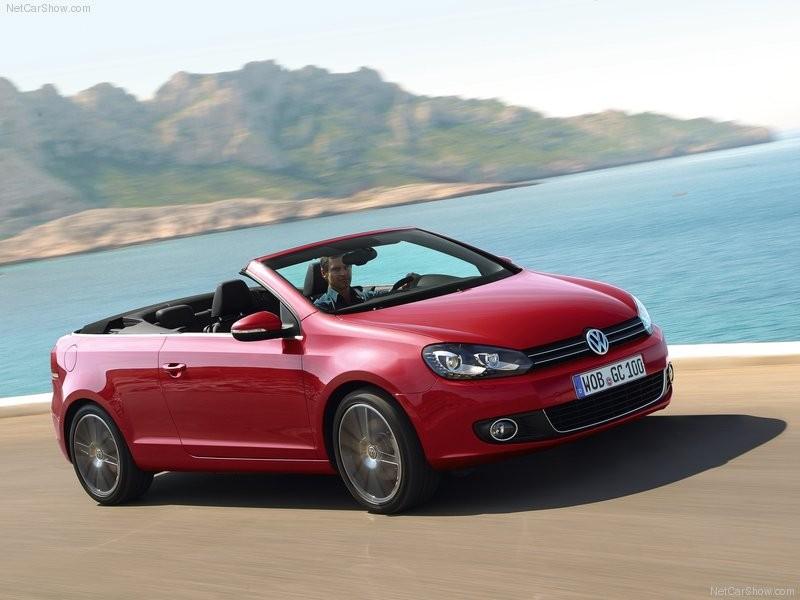 VW Golf Cabriolet - Convertible Cars - Annacars.gr